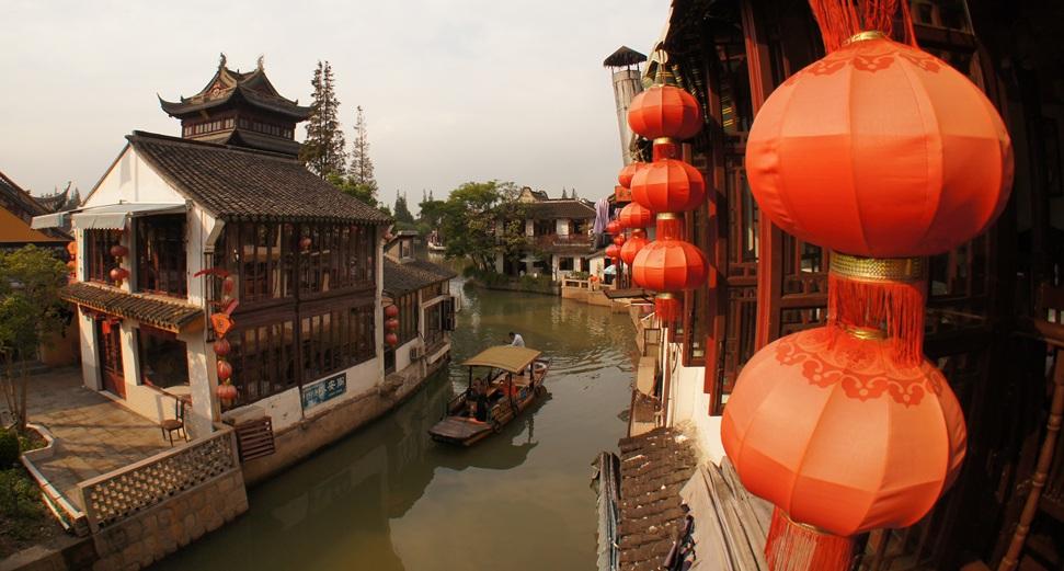 Pływające Zhujiajiao – chińska Wenecja