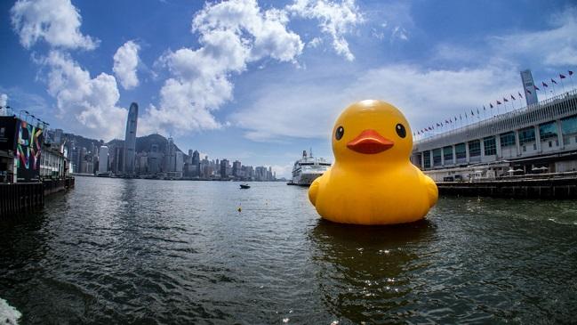 Hongkong w dobrym humorze