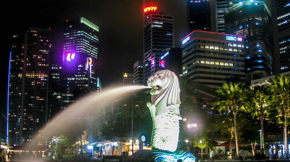Tajemnica Miasta Lwa – Singapur