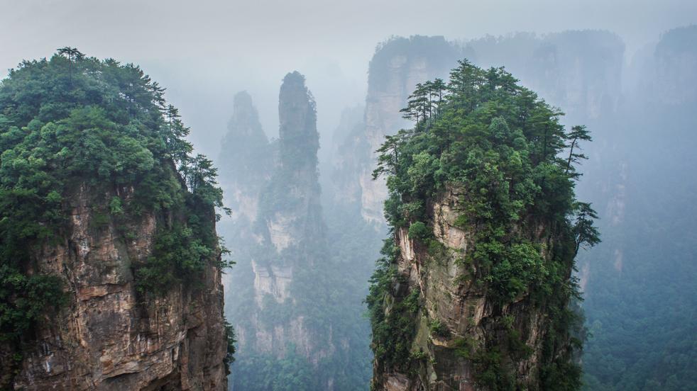 Zhangjiajie- kraina Avatara
