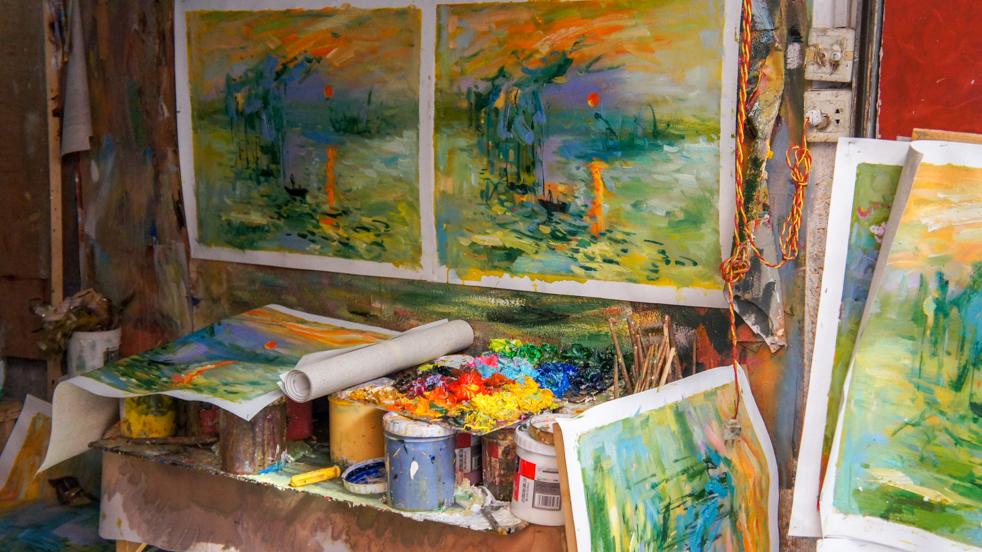Dafen- malować każdy może, jeden lepiej…