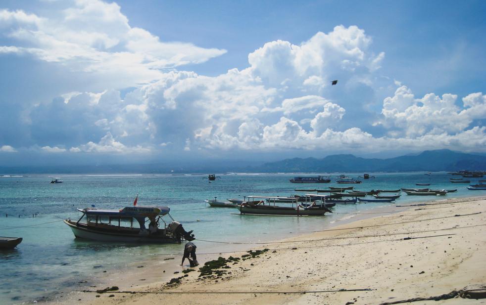 Pocztówki z Nusa Lembongan