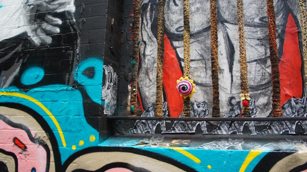 Street Art- owe pocztówki z Melbourne