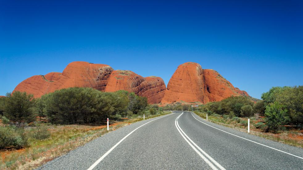 Kata Tjuta – w cieniu sławy Uluru