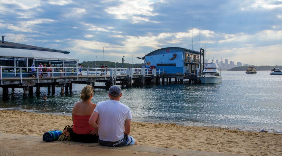 Pożegnanie z Sydney – Watsons Bay