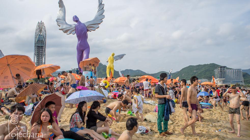 plaża w Chinach