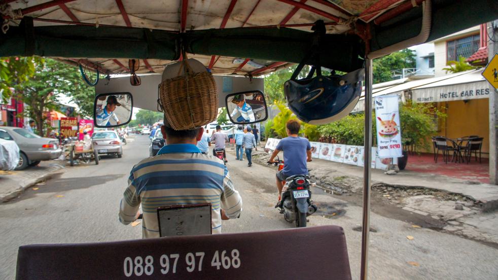 Phnom Penh i pożegnanie z Siem Reap