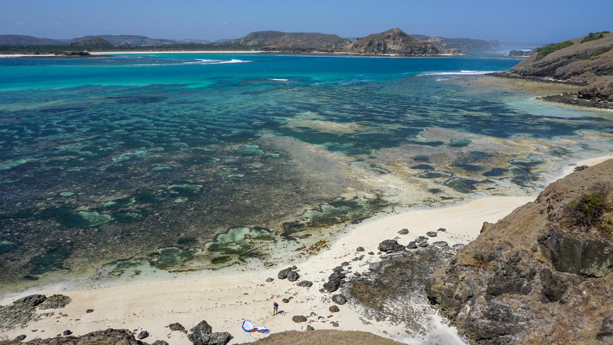 Lombok: plaże południa
