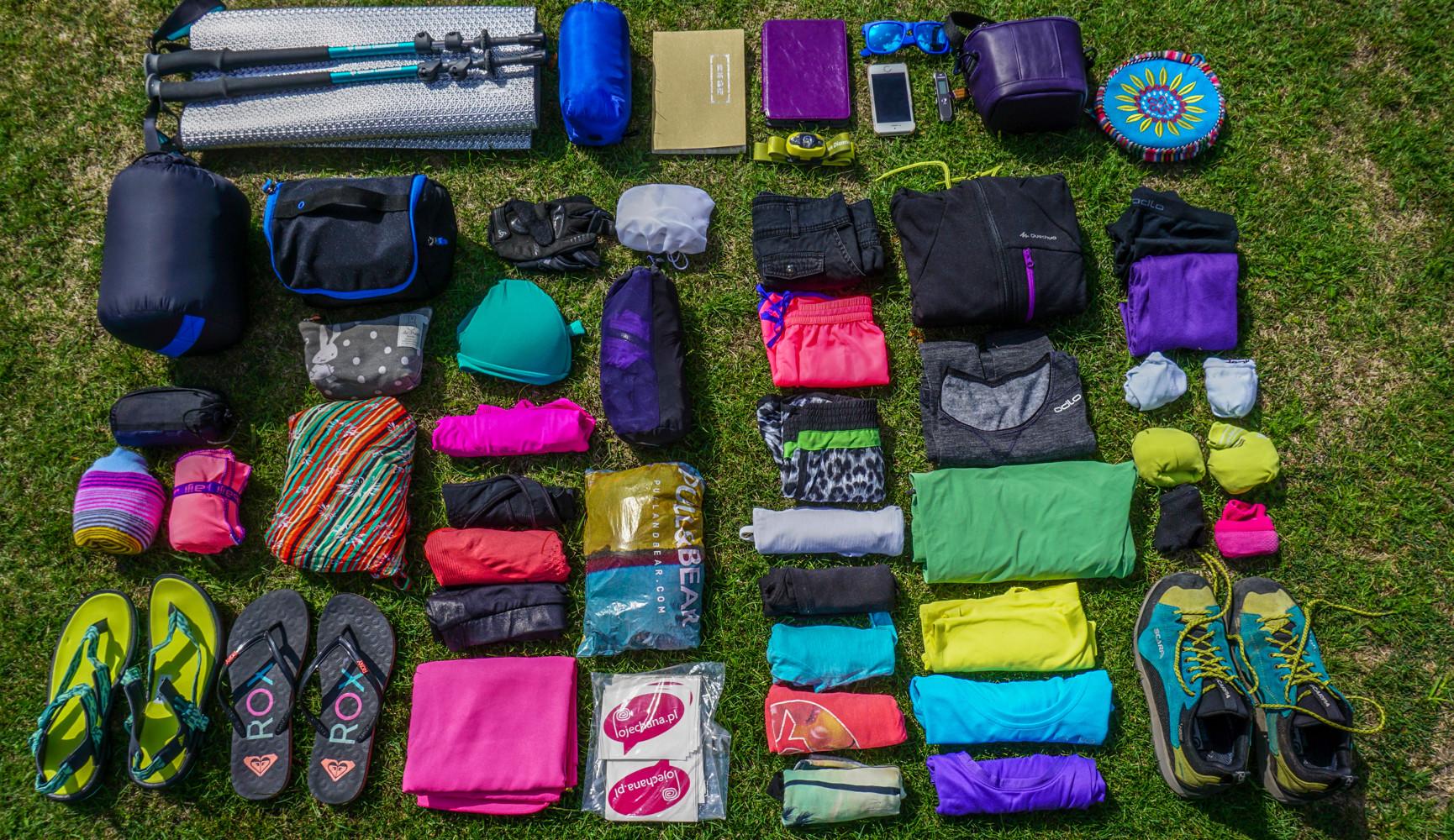 6565a3cb6a478 Jak spakować plecak w podróż dookoła świata  Co zabrać