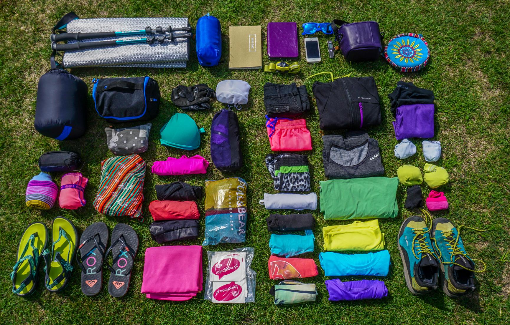 Jak spakować plecak w podróż dookoła świata
