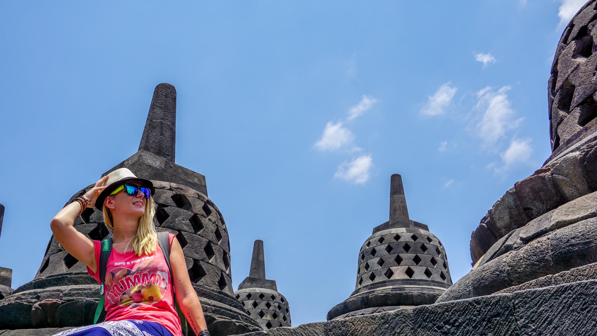 Borobudur – jedna z największych buddyjskich świątyni na świeci