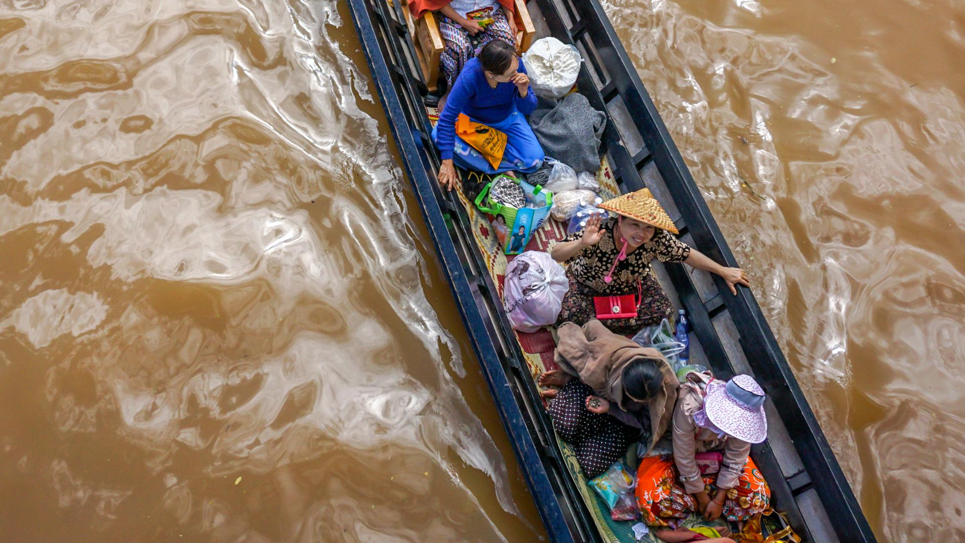 Birma praktycznie – trasa podróży, noclegi