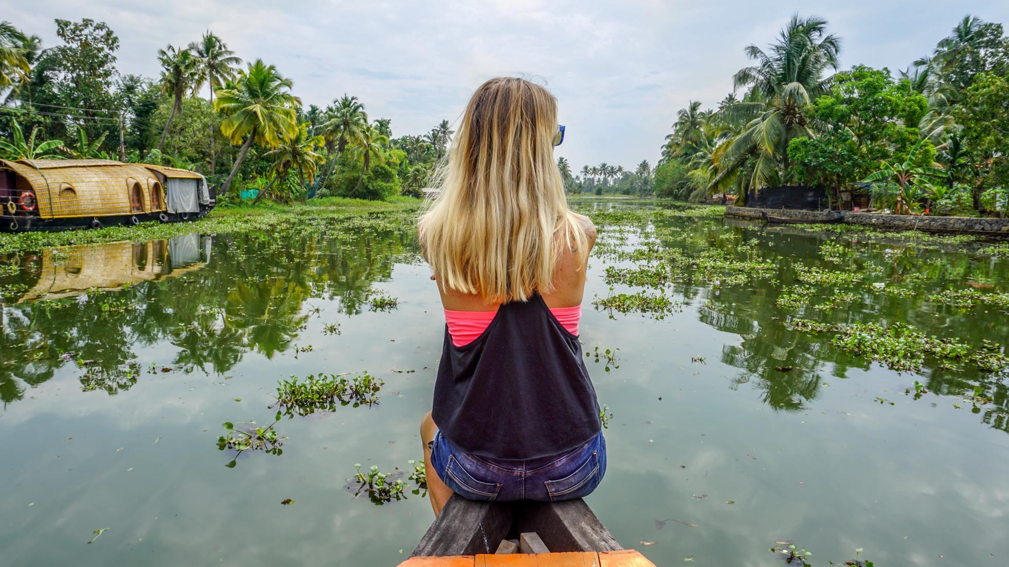 Pierwsze kilometry Kerala Blog Express