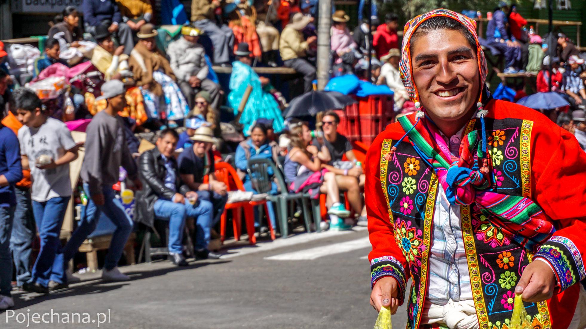 wielka fiesta w La Paz