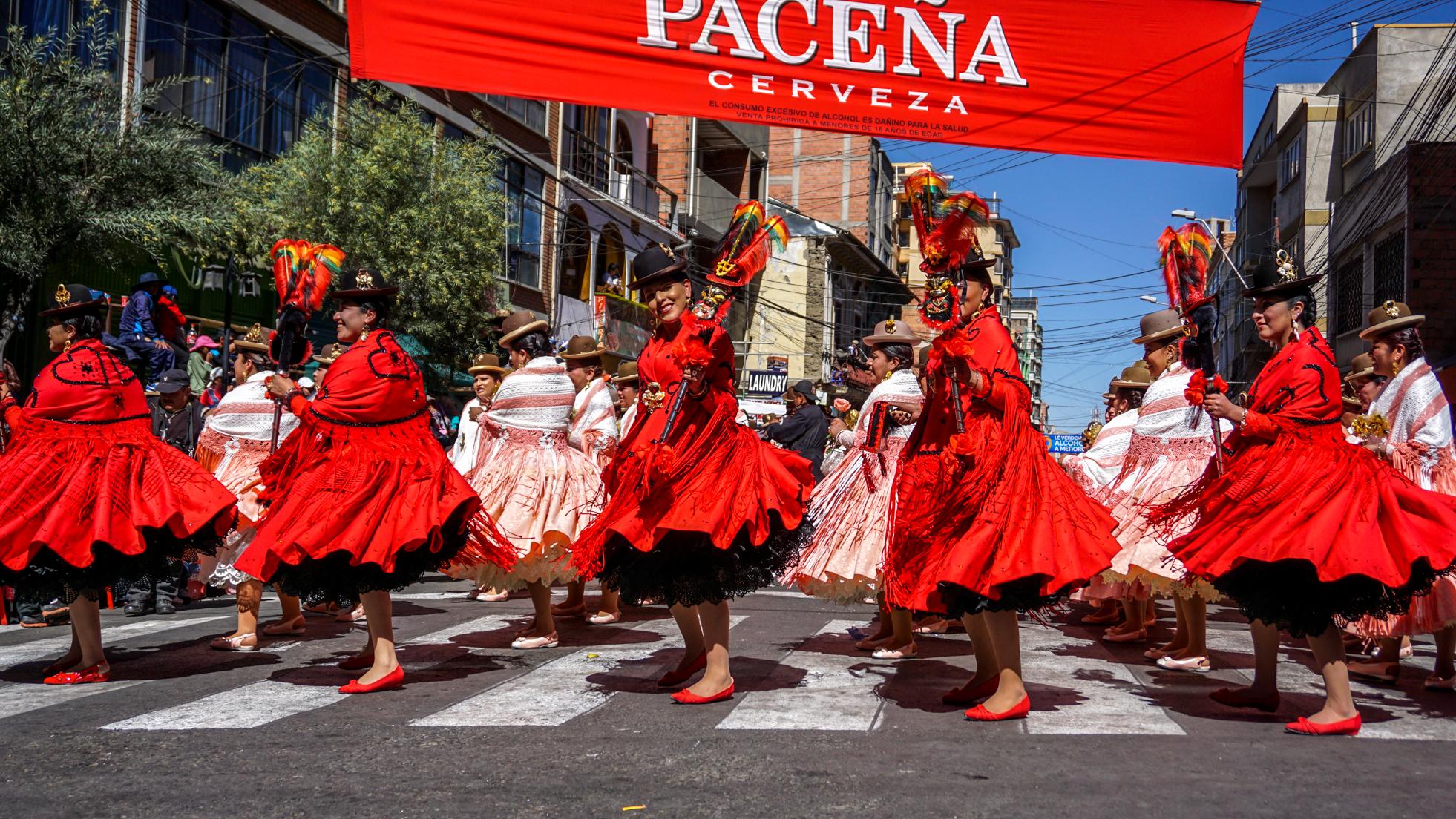 Fiesta del Gran Poder w La Paz
