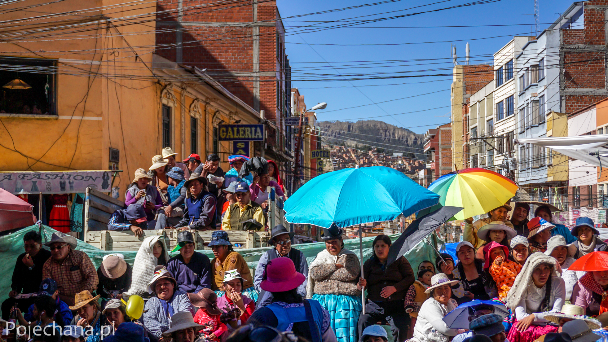 Fiesta w La Paz