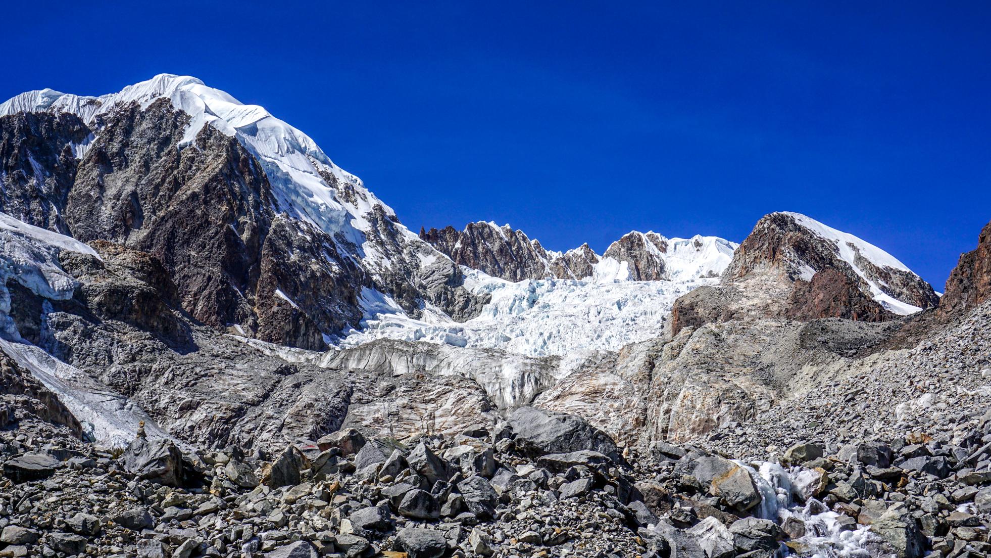 Laguna Glaciar i Sorata- najfajniejsze miasteczko w Boliwii
