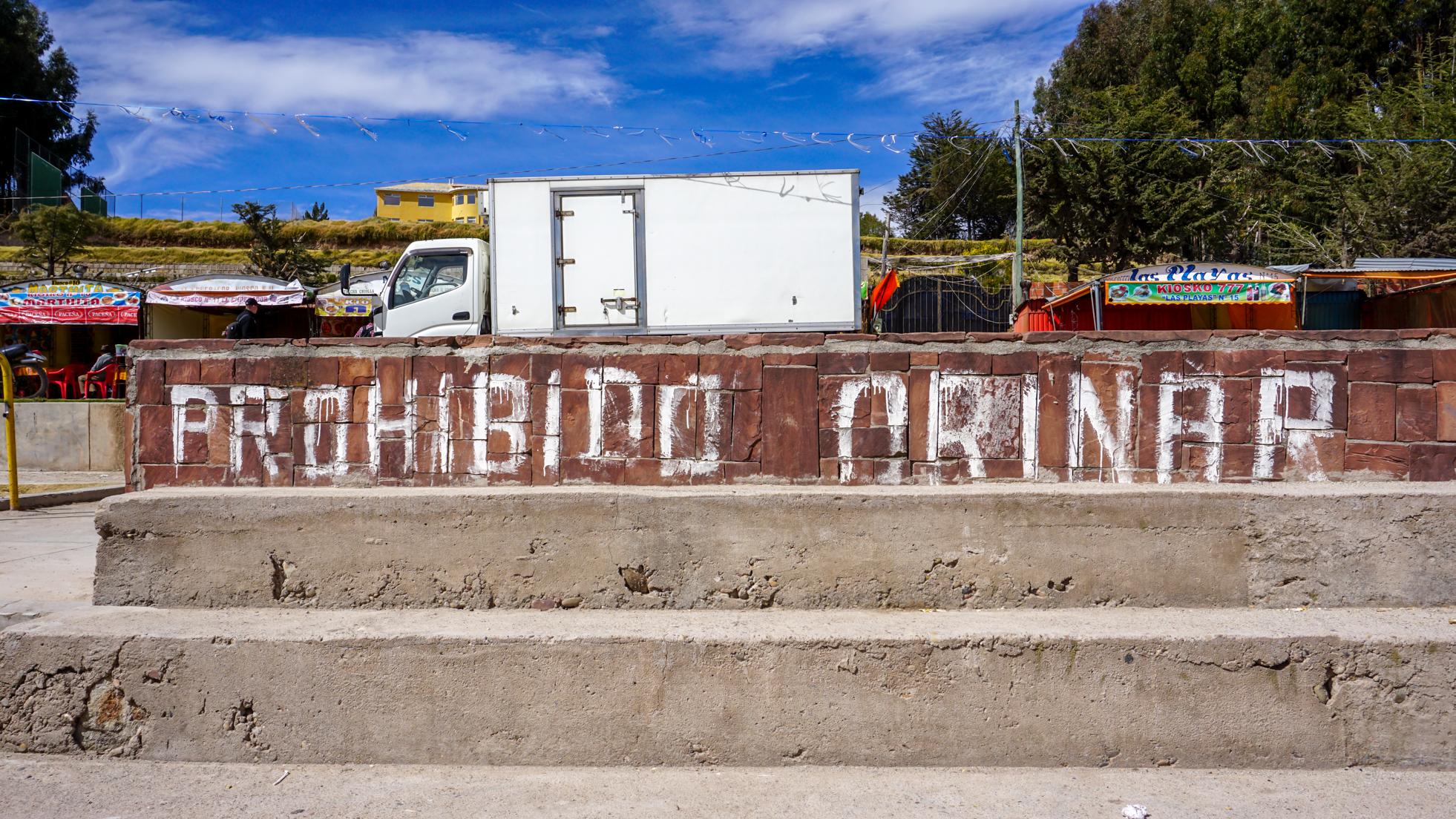 Boliwijska Copacabana – no me gusta
