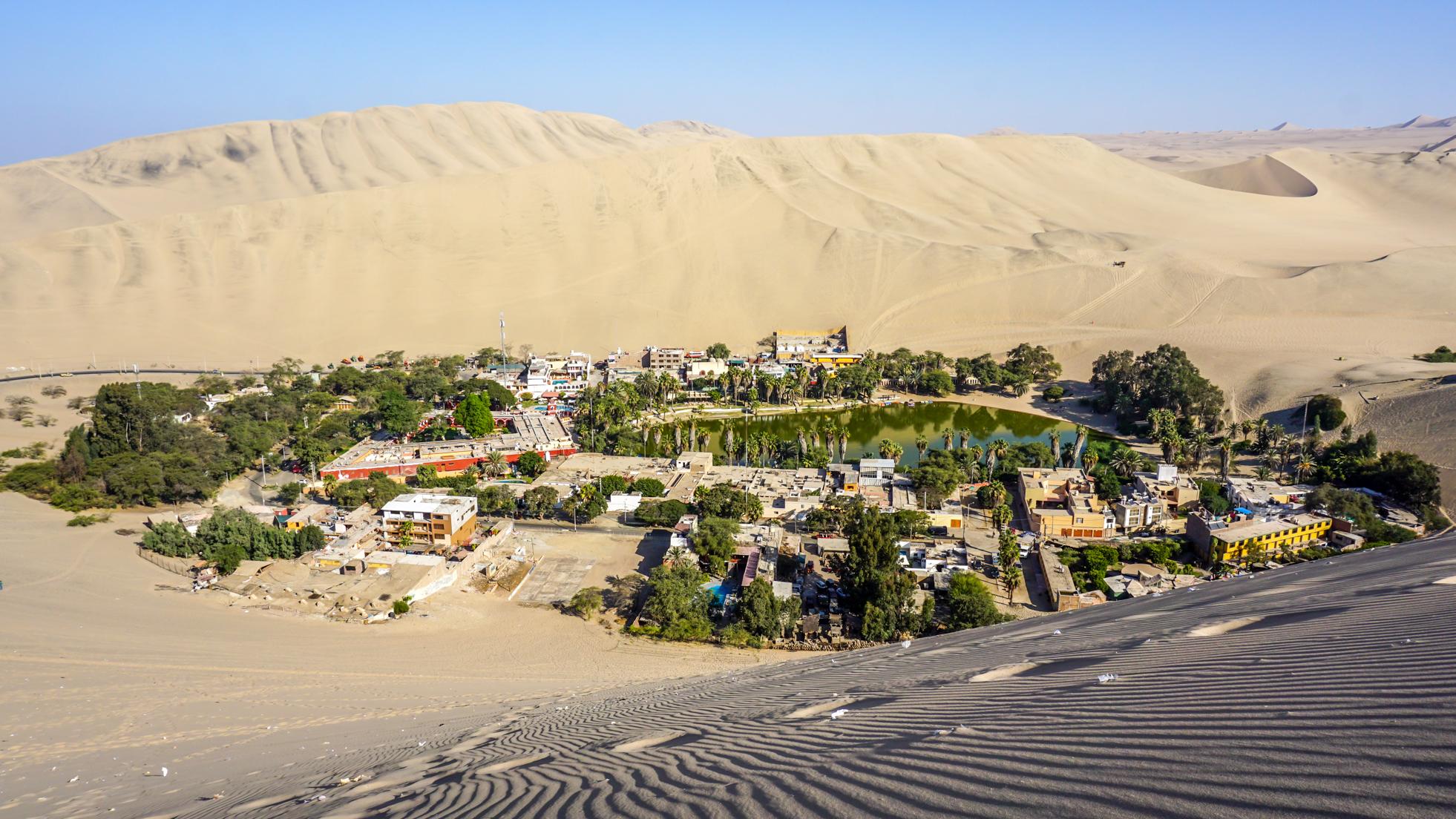 Huacachina – pustynna oaza, pustynny kicz