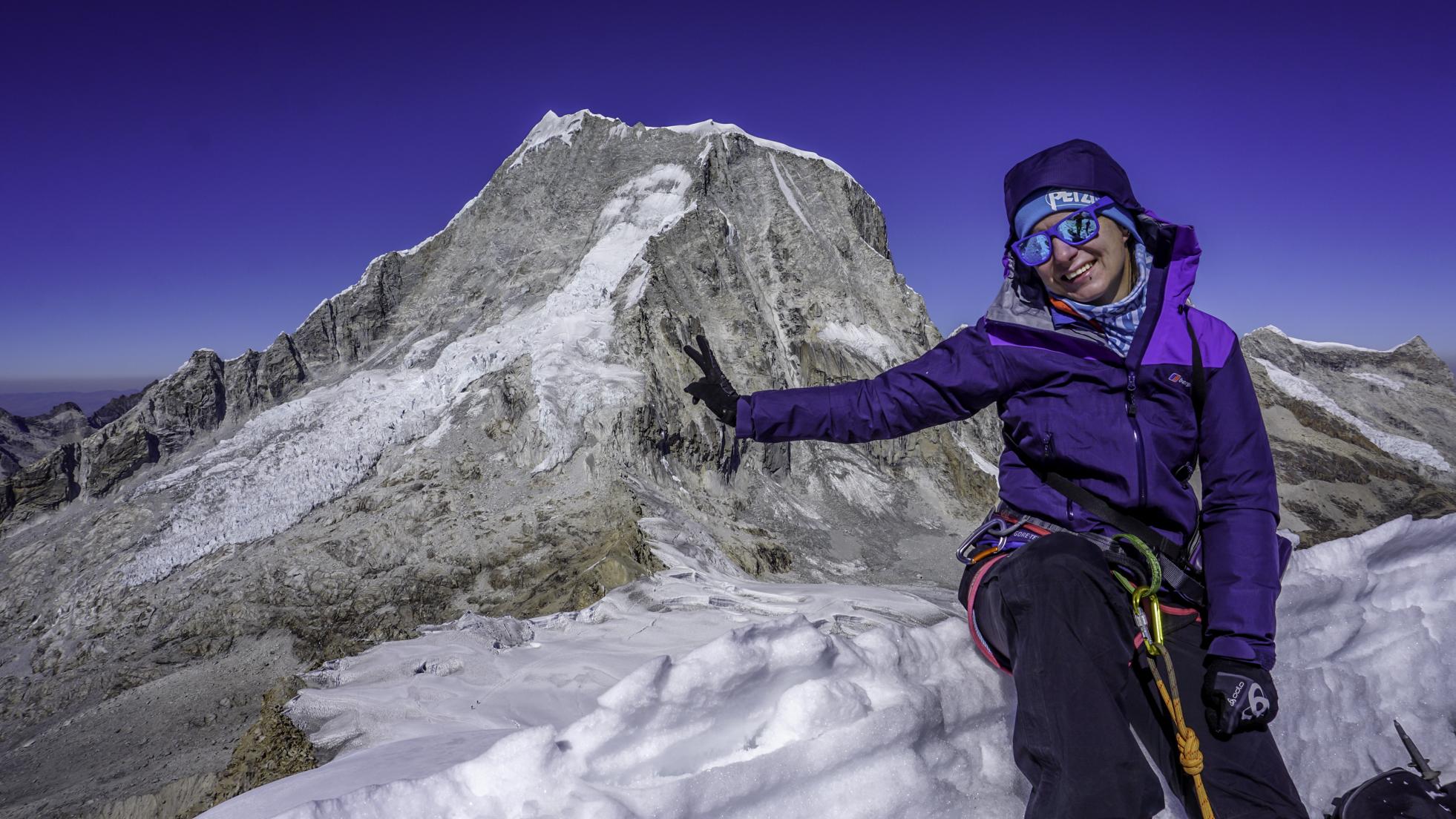 Nevado Ishinca (5530 m) – mój pierwszy lodowiec