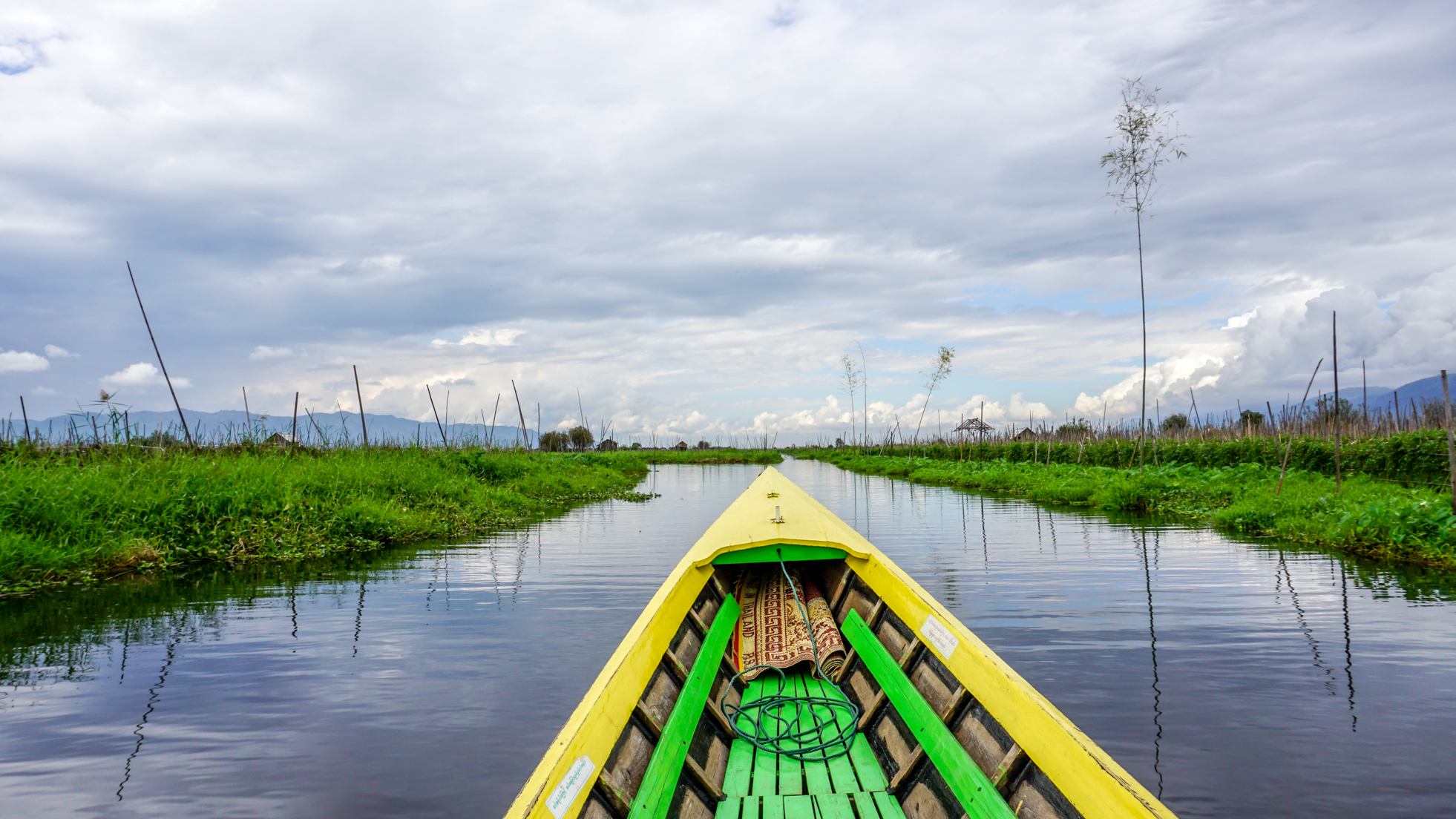 Pływające życie – Inle Lake