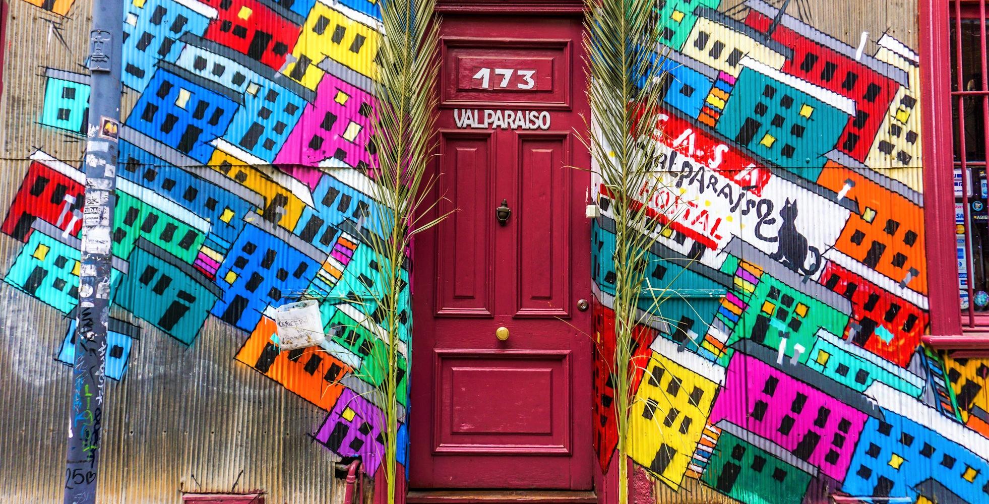 Street- art w Valparaiso, czyli gdzie warto wyskoczyć z Santiago de Chile