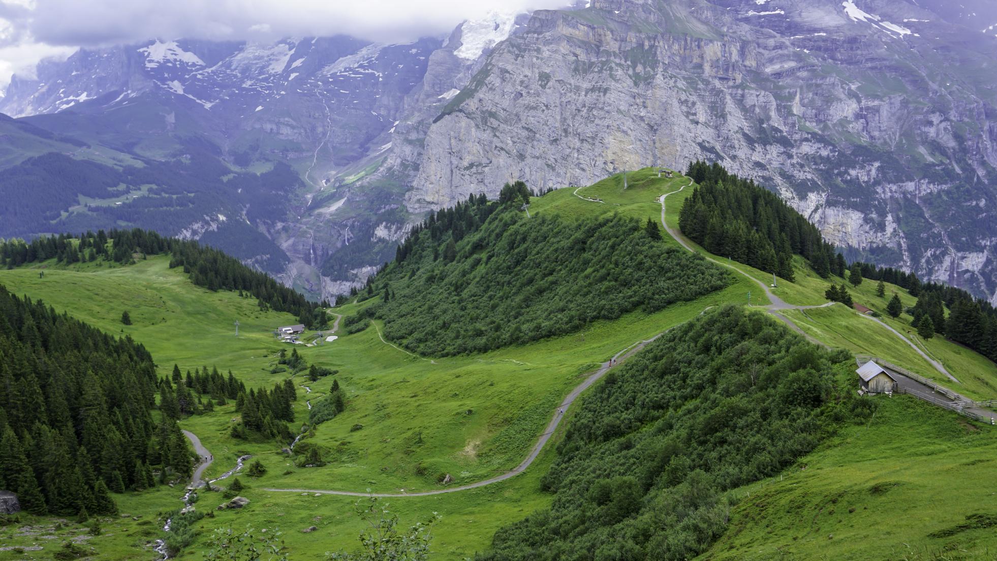 Dolina Lauterbrunnen