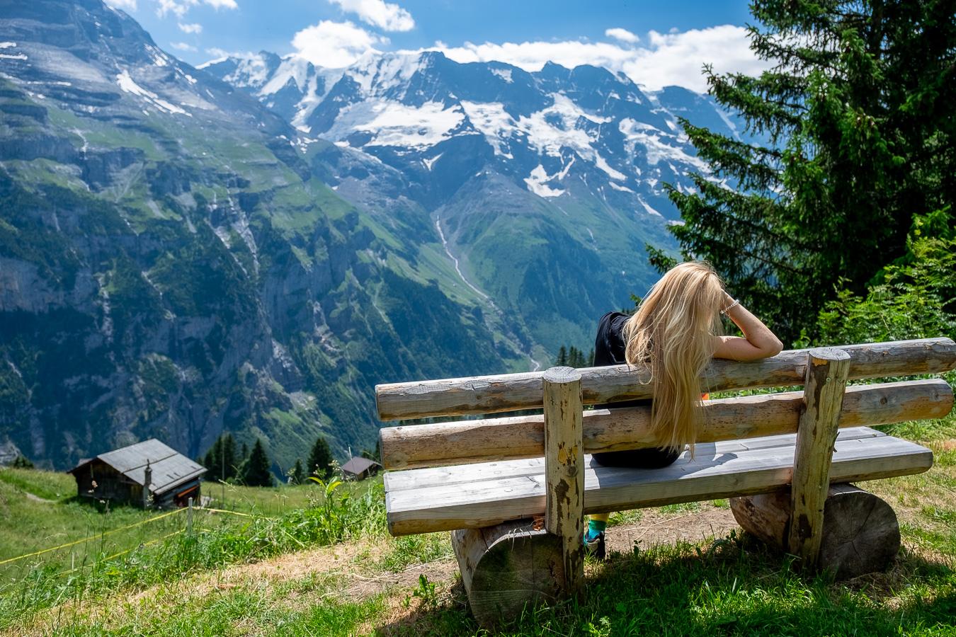 Szwajcarskie Mürren – alpejski raj