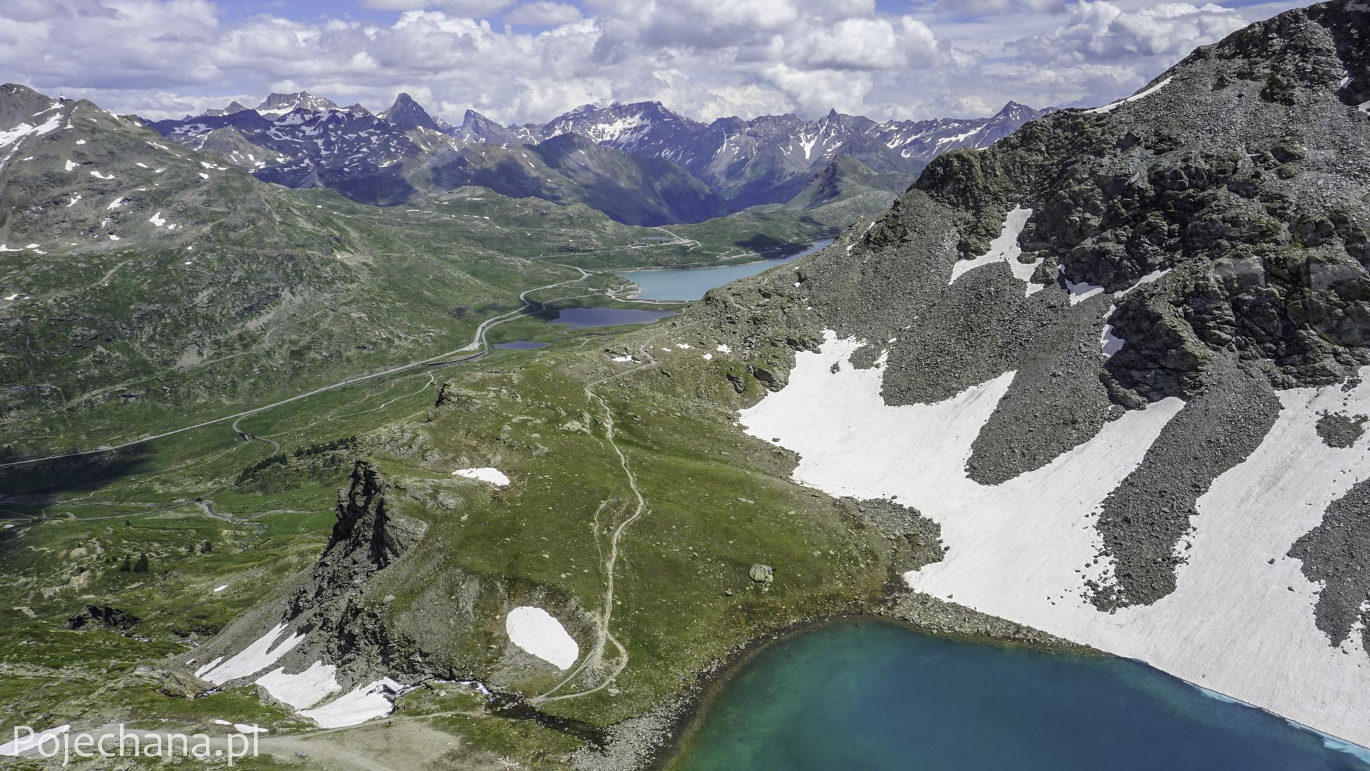 zbiorniki retencyjne w Alpach