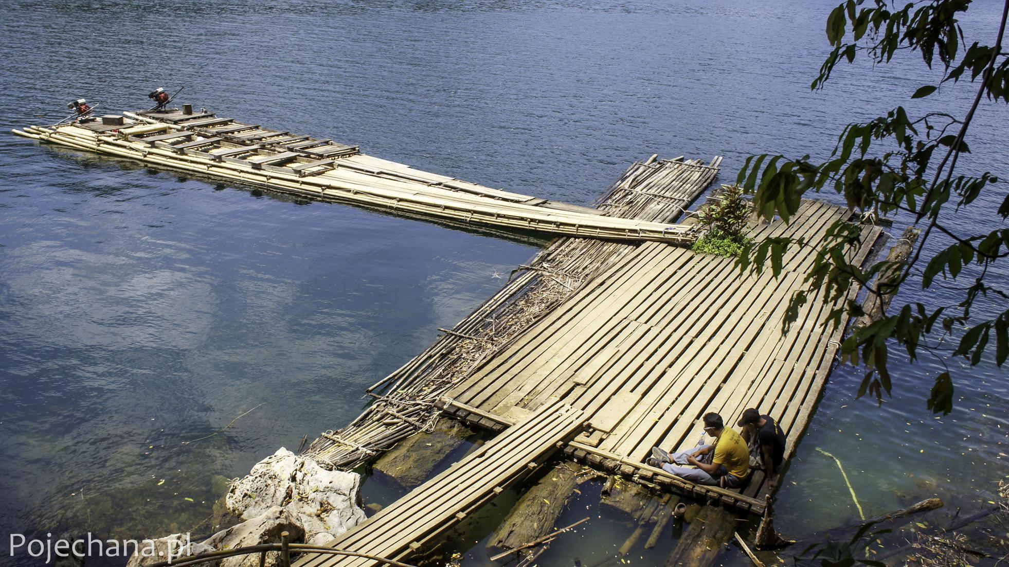 tratwa bambusowa